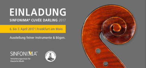 Bogenträume bei der SINFONIMA CUVÉE DARLING 2017