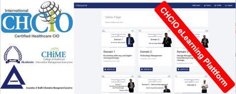 Bilden Sie sich Online weiter: CHCIO (Certfied Healthcare CIO) eLearning Plattform