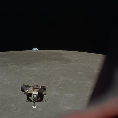 apollo-11-lunar-module-ascent-stage-photographed-from-command-module_7881547674_o