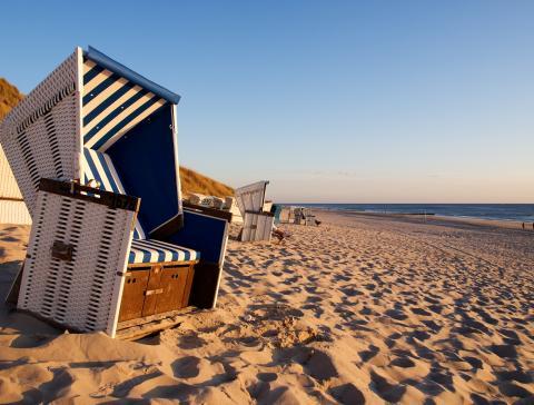 Strandkorbversteigerung auf Sylt