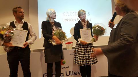 Målinriktade elever och lärare fick Coachee Award