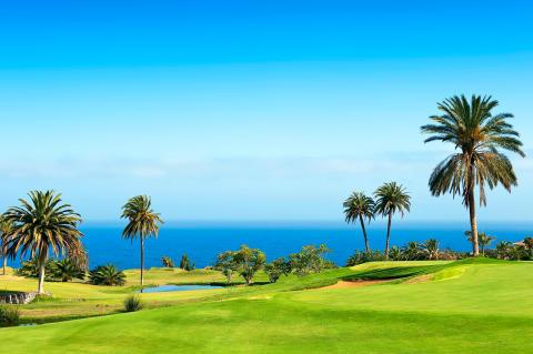 Ulkomaille suuntautuvalle golfmatkalle lähdetään useimmiten puolison kanssa