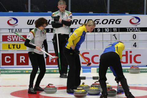Curling, VM mixed dubbel: Slutspel eller inte? Nu hänger allt på resultatet i andra matcher.