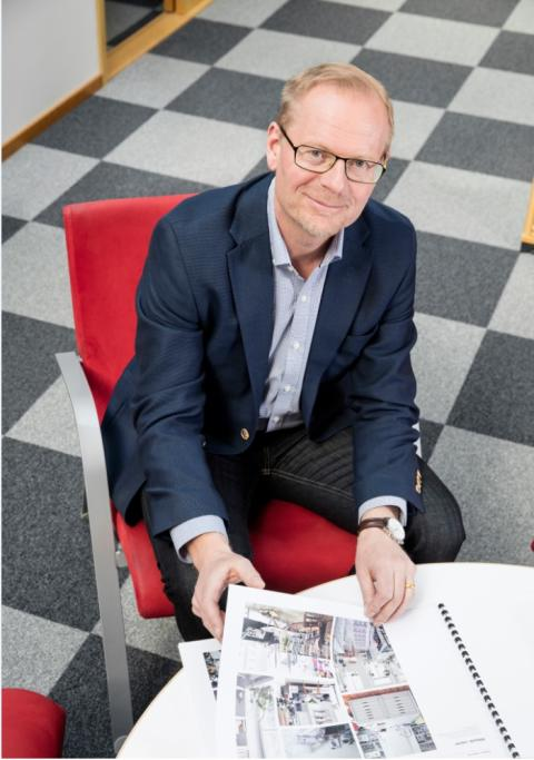 Sälj- och marknadschef Olov Granström
