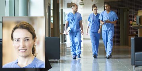 Läkare arbetar över normal arbetstid