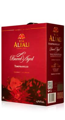 NY DESIGN - Viña Albali Barrel Aged 197 kr (3 liter)