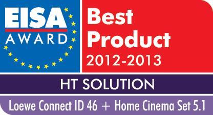 EISA 2012-13: Europas bästa Home Entertainment System kommer från Loewe!
