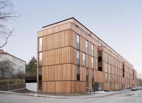 Årets Stockholmsbyggnad 2014: Skagershuset