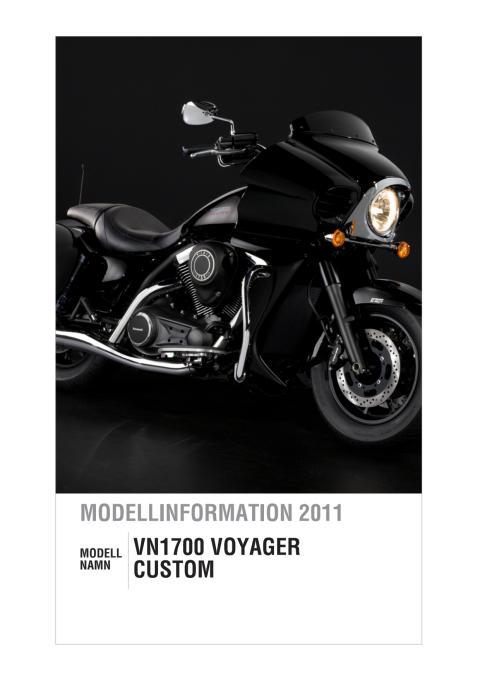 Modellinformation Kawasaki VN1700 Voyager Custom