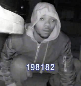 Man police wisht to speak with - ref 198182