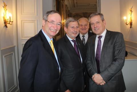 Handelskammaren mötte EU-kommissionären Hahn