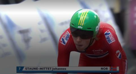 Johannes Staune-Mittet start 2 EM 2019