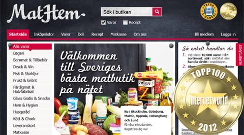 MatHem – Sveriges ledande aktör för mat på nätet – tar in över 50 MSEK i kapitaltillskott.
