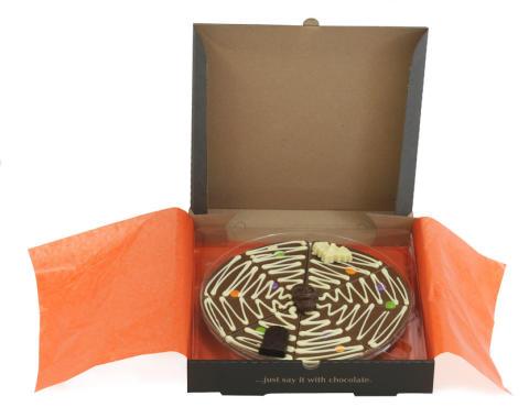 Chokolade pizza til Halloween?