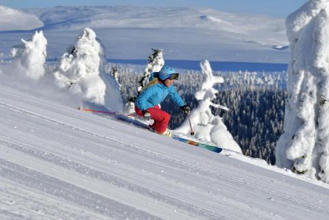 Idre Fjäll 2015 - Downhill skiløb