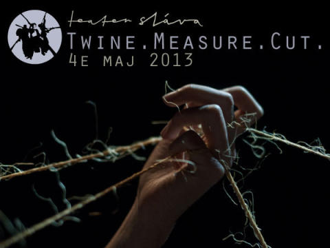 TWINE. MEASURE. CUT.
