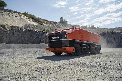 Scania AXL - autonom und ohne Fahrerhaus