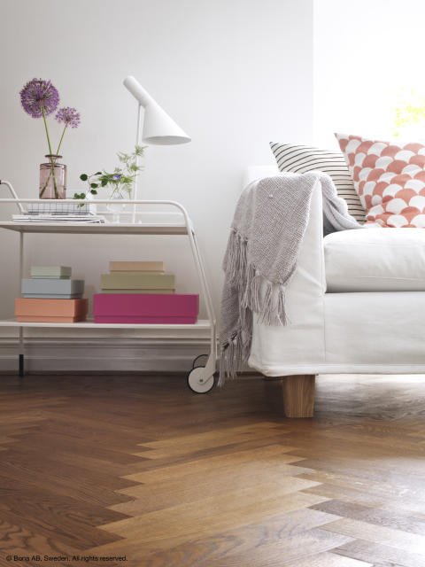 Wood Floor Makeover