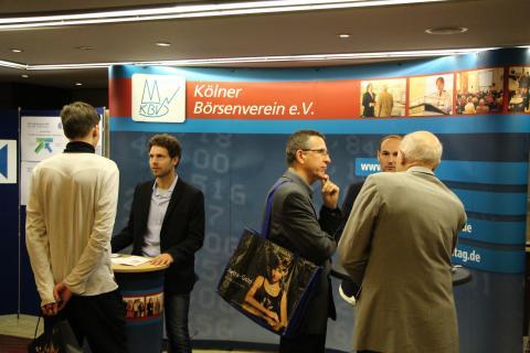 Börsentag Köln 2016 - Ausstellungsstand
