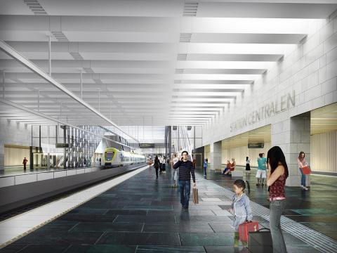 Eitech tar viktig roll i utvecklingen av station Centralen i Göteborg
