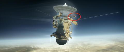 Rymdfarkosten Cassini med bl.a. svenskt instrument ska åka in i Saturnus gasmassor den 15 september 2017  [NOTERA DATUM!]