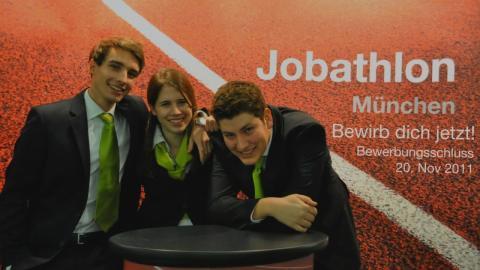 """Jobathlon 2011 – Finde """"Dein"""" Unternehmen!"""