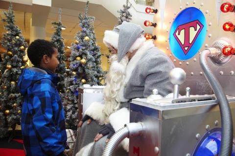 Julpremiär på NK i Göteborg