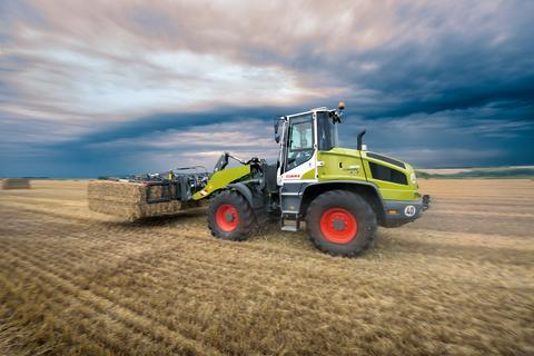 CLAAS TORION 956
