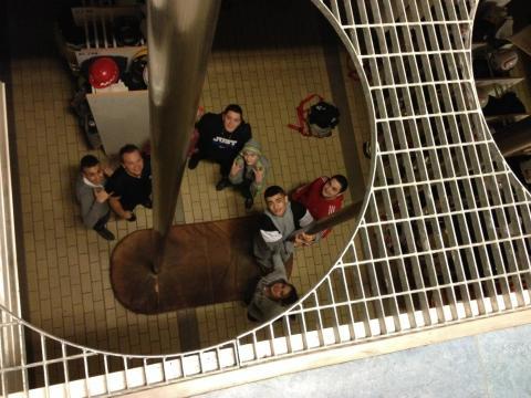 Lyckad satsning på möten mellan ungdomar och personal i uniformsyrken