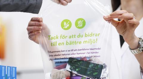 Stora insamlingsdagen: Apoteket samlade in 417 ton överblivna läkemedel ifjol - nu utökas satsningen Stora Insamlingsdagen