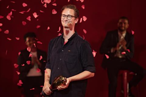 Talentprismodtager: dramatiker Magnus Iuel Berg