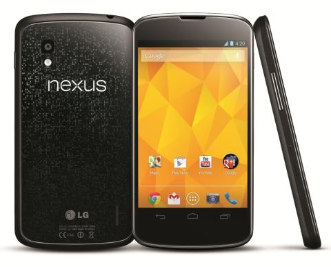 LG OG GOOGLE PRESENTERER NEXUS 4