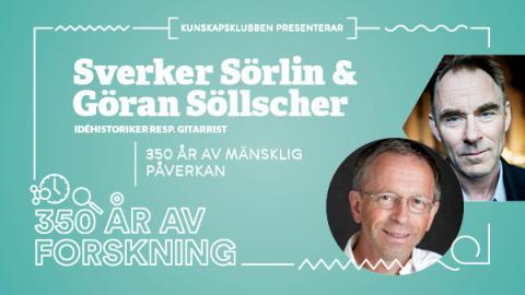 Söllscher och Sörlin på scen i unikt samarbete - en resa genom 350 år.