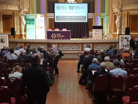 Station volunteers hailed at Community Rail Conference