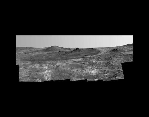 Brittany Nelson, Opportunity – Spirit of St Louis Crater (2018)