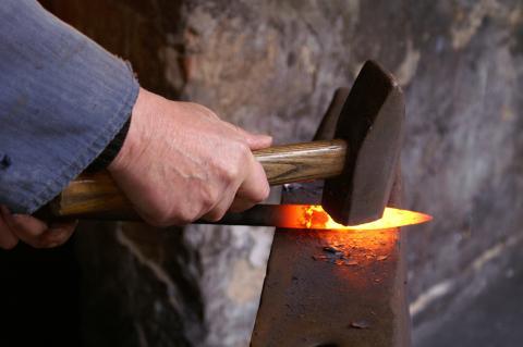 Vikingesmeden på Lejre Museum