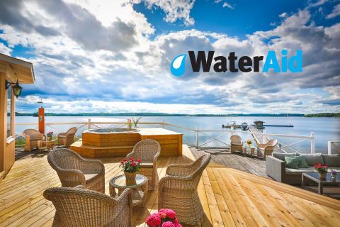 Krägga Herrgård i samarbete med WaterAid