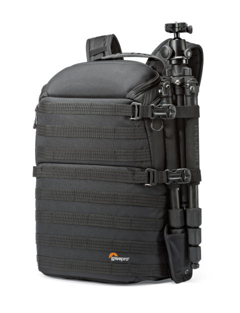Lowepro Pro Tactic 450 AW med stativ