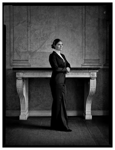Kronprinsessans 40-årsgåva överlämnad