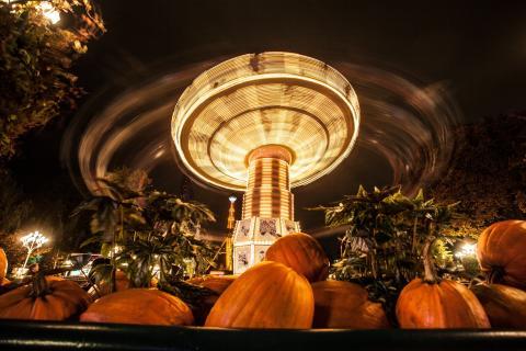 29 Halloweenöppna åkattraktioner