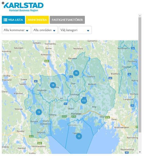 Nu blir det enklare att hitta lediga lokaler i Karlstadsregionen