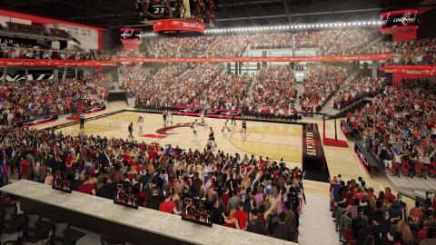 Skanska renoverar Fifth Third Arena vid University of Cincinnati, USA, för cirka 420 miljoner kronor