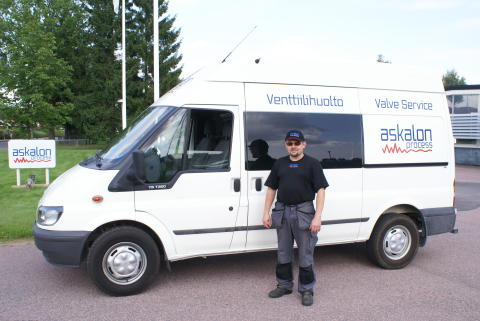 Askalon AB startar ventilservice i Finland - Venttiilihuolto
