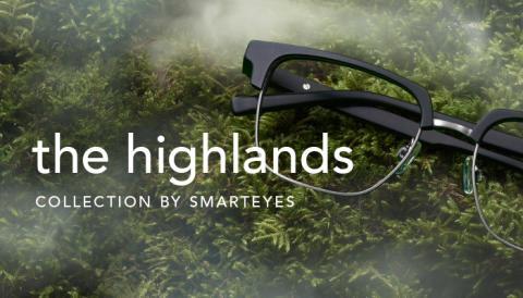 Skotska höglandet inspirerar i Smarteyes nya kollektion