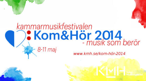 Kom & Hör – Musik som berör! Stockholm 8-11 maj