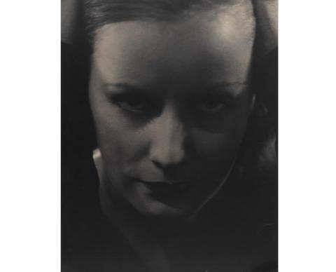 New acquisition: Greta Garbo by Edward Steichen