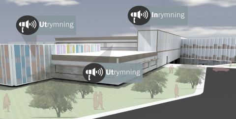 Höj säkerheten med talat in- och utrymningslarm, Göteborgs Stad valde lösning från COBS med Vingtor-Stentofon