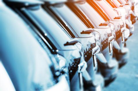 Antalet nyregistrerade bilar minskade med knappt 16 procent i januari