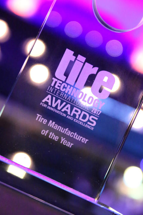 Tire Technology International Awards for Innovation ja Excellence