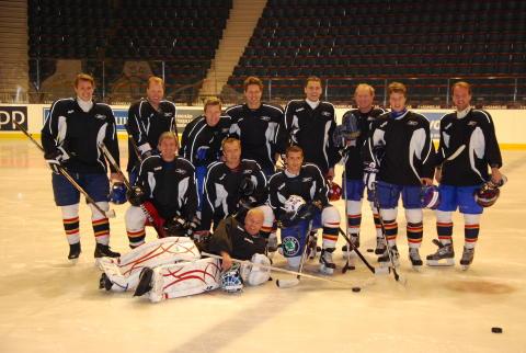 Delphi vinnare i hockey-SM för advokater